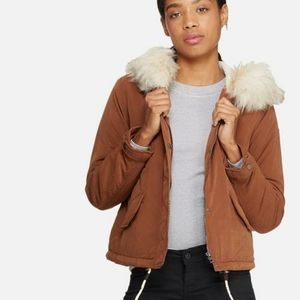ONLY | SKYLAR PARKA WITH FAUX FUR HOOD